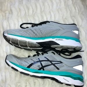OASICS DYNAMIC DUOMAX GEL TENNIS SHOES SIZE 8